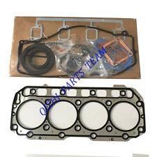 Engine Full Gasket set For Yanmar 4TNE106 4TNE106T Engine Gehl 7600 loader