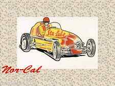Sta-Lube Sticker Decal Auto Hot Rat Rod Car Speed Engine Motor Lubricant