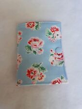 Needle Book/Needle Case Blue Ashdown Rose Rosali pink spot handmade sewing