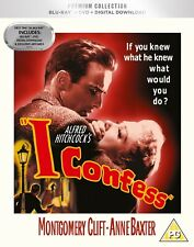 * I CONFESS ( 1953 ALFRED HITCHCOCK ) HMV PREMIUM COLLECTION BLURAY & DVD SEALED