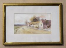 1905 Ferneley Ramus signed and dated watercolour - Listed artist