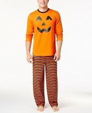 Family Pajamas Men's Pumpkin Pajama Set Medium