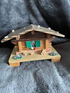 Delightful Vintage Swiss Hand Made Wooden Music Box