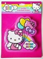 HELLO KITTY JUMBO SCENTED ERASER~BRAND NEW~ 3 3/4 INCH TALL