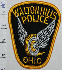 OHIO, WALTON HILLS POLICE DEPT WHEEL PATCH