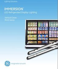 GE Immersion LED cooler lighting kit for 4 door 6' refrigerated display cases