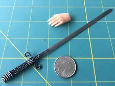 """Dark Duelist Sword""1:6 Scale Custom Steel Miniature By Auret"