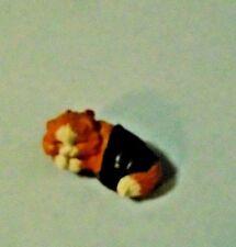 1988 Hallmark Christmas Merry Miniatures Kitten On Green Slipper