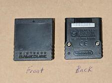 Black Nintendo GameCube Memory Card 251 blocks (See Description!!!)