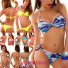 Bikini costume donna mare swimwear due pezzi fascia incrociata brasiliana B901