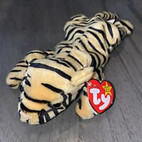 Original Ty Beanie Baby STRIPES The Tiger Style 4065 6/11/95 W/Tag (Bent)