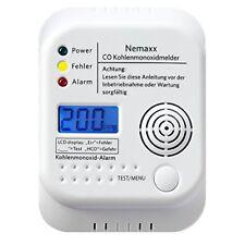 Nemaxx Kohlenmonoxid CO-Melder nach DIN EN50291