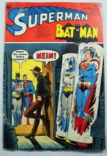 Comic Superman Bat Man Heft 6 1974