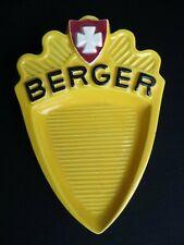 Sehr schöner Keramik Zahlteller von Pastis Berger in schöner Erhaltung!