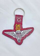 parachute regiment key ring, para reg gifts, parachute regiment cap badge keyfob