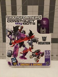 NEW Hasbro Megatron 🤖 Transformers Construct Bots Elite Factory 🏭 Sealed