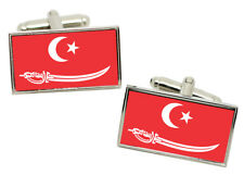 Aceh (Indonesia) Flag Cufflinks in Chrome Giftbox