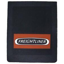 "Freightliner Trucks 16"" x 20"" OEM Ribbed Front Fender 1/4"" Thick Black Mud Flaps"