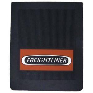 "Freightliner Trucks 16"" x 20"" x 1/4"" OEM Ribbed Front Fender Black Mud Flaps-Set"