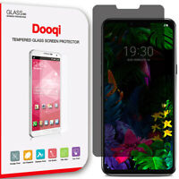 For LG G8 ThinQ Privacy Anti-Spy Tempered Glass Screen Protector Saver