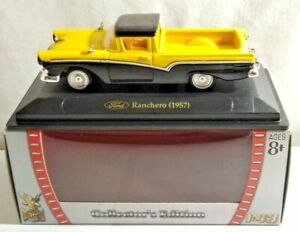 YAT MING ROAD SIGNATURE COLLECTION 1:43 SCALE 1957 FORD RANCHERO - 94243 - BOXED