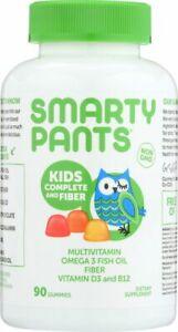 Smartypants Gummies Vitamin - Multi - Kid + Fiber - 90 count