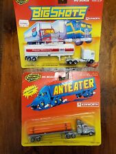 Road Champs 1990 Big Shots Kenworth And 1988 Anteater Kenworth Sealed Pair