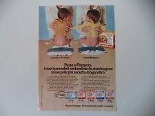 advertising Pubblicità 1981 PANNOLINO PAMPERS