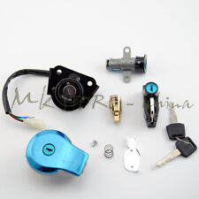 Ignition Switch Fuel Gas Cap Cover Lock Key for Yamaha Virago XV125 XV250