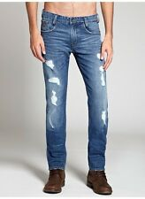 Guess Alameda Slim Tapered Jeans In Combat Wash Size 28