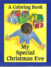 My Special Christmas Eve - African American Childrens Personalized Coloring Book
