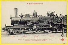 cpa Dampflokomotive EISENBAHN Französisch, Steam LOCOMOTIVE RAILWAY French