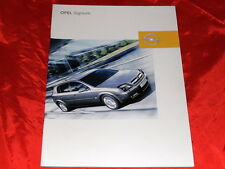 Opel Signum base Elegance Sport Cosmo folleto francés de 2003