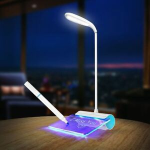 Novelty LED Table Lamp Eye Protection USB Rechageable LED Desk Lamp Touch Switch