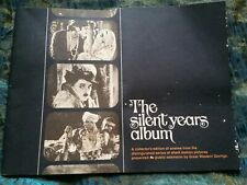 Vintage The Silent Years Album Photo Book Silent Movies Chaplin Valentino Buster