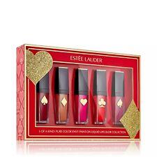 Estee Lauder Pure Colour Envy Liquid Lipstick Set 5 x 7ml Full Size BNIB RRP £57