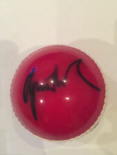 Cricket Ball Autographed by Australian bowler Shane Warne