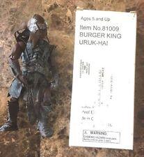 TOYBIZ LORD OF THE RINGS LOTR BURGER KING BK URUK-HAI Mail-Away Exclusive w/ BOX