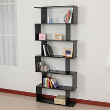 Computer Desk Partner Office Bookcase Shelf 6 Tier Space Saving Plant Display