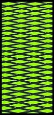 Hydro-Turf Sheet 2Tone Lime Green/Black Boating Carpet cut diamond SHT37CD