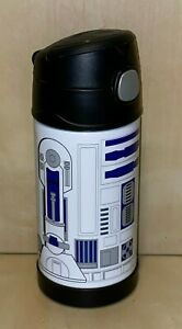Star Wars R2-D2 Thermos Bottle Stainless Steel Insulated Super Clean Collectible