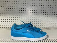 Puma Suede Classic LD Womens Casual Athletic Shoes Sneakers Size 8 Ocean Blue