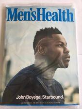 MEN'S HEALTH Magazine April 2018 - John Boyega Cover - Fitness Weightloss New