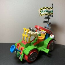 Vintage Teenage Mutant Ninja Turtles Toilet Taxi Vehicle Near Complete