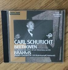 CD• Carl Schuricht conducts BEETHOVEN symphony no5 & BRAHMS concerto (19491947)