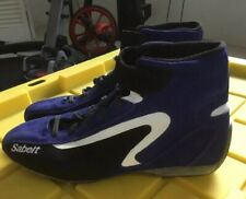 FIA Sabelt Street Mid RS-200 Racing Boots Shoes Size 43 Italy Blue