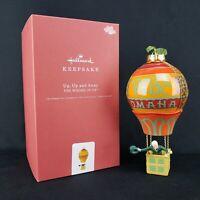 Up Up and Away Wizard of Oz Balloon Premium 2019 Hallmark Keepsake Ornament