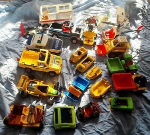 Playmobil Large Collection Of Vintage Vehicles Bundle