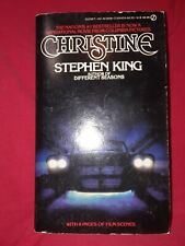 Christine Stephen King 1st Signet 1983 mmpb PaperBack horror movie tie-in first