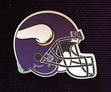 "NFL 3"" MINNESOTA VIKINGS Football Helmet Magnet Car Magnet Refrigerator Magnet"